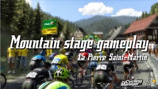 Pro Cycling Manager 2015 - Tour de France Mountain Stage Gameplay (ENG | HD)