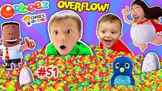 Chase's Corner: 1 MILLION ORBEEZ TOY SURPRISE! (#51| DOH MUCH FUN)