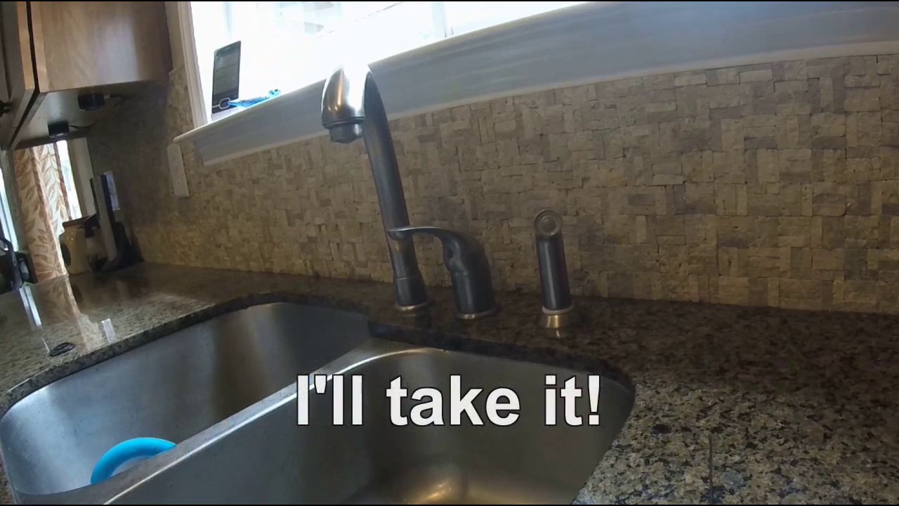 Delta Single Lever Faucet Repair - Dripping Faucet - YouTube