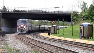 Railfanning Washington DC - Rare Catches at Alexandria, VA