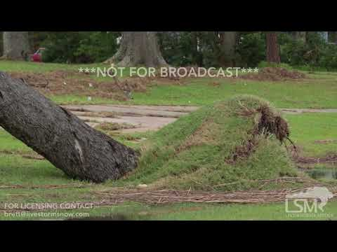 10-08-2017 Pascagoula, MS Hurricane Nate full B-Roll damage package