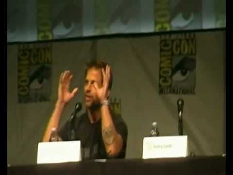 Man of Steel Comic Con 2012 Panel Part I~Henry Cavill & Zack Snyder