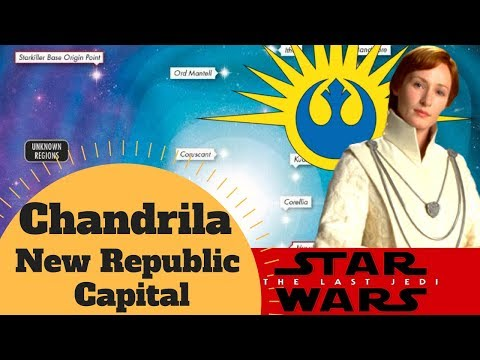 FIRST CAPITAL for the NEW REPUBLIC - Chandrila Planet Lore - Journey to Star Wars: The Last Jedi