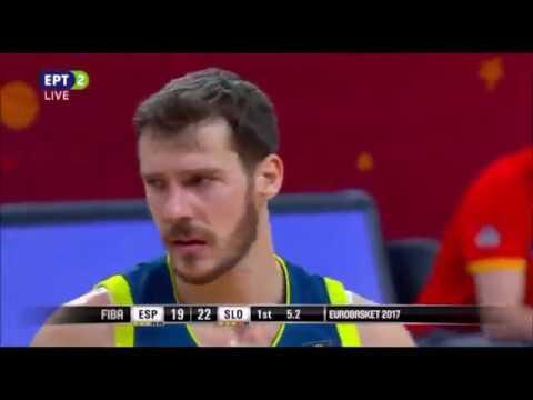 Spain vs Slovenia 72-92 /Eurobasket 2017 Semi-Final Highlights {14-9-2017}