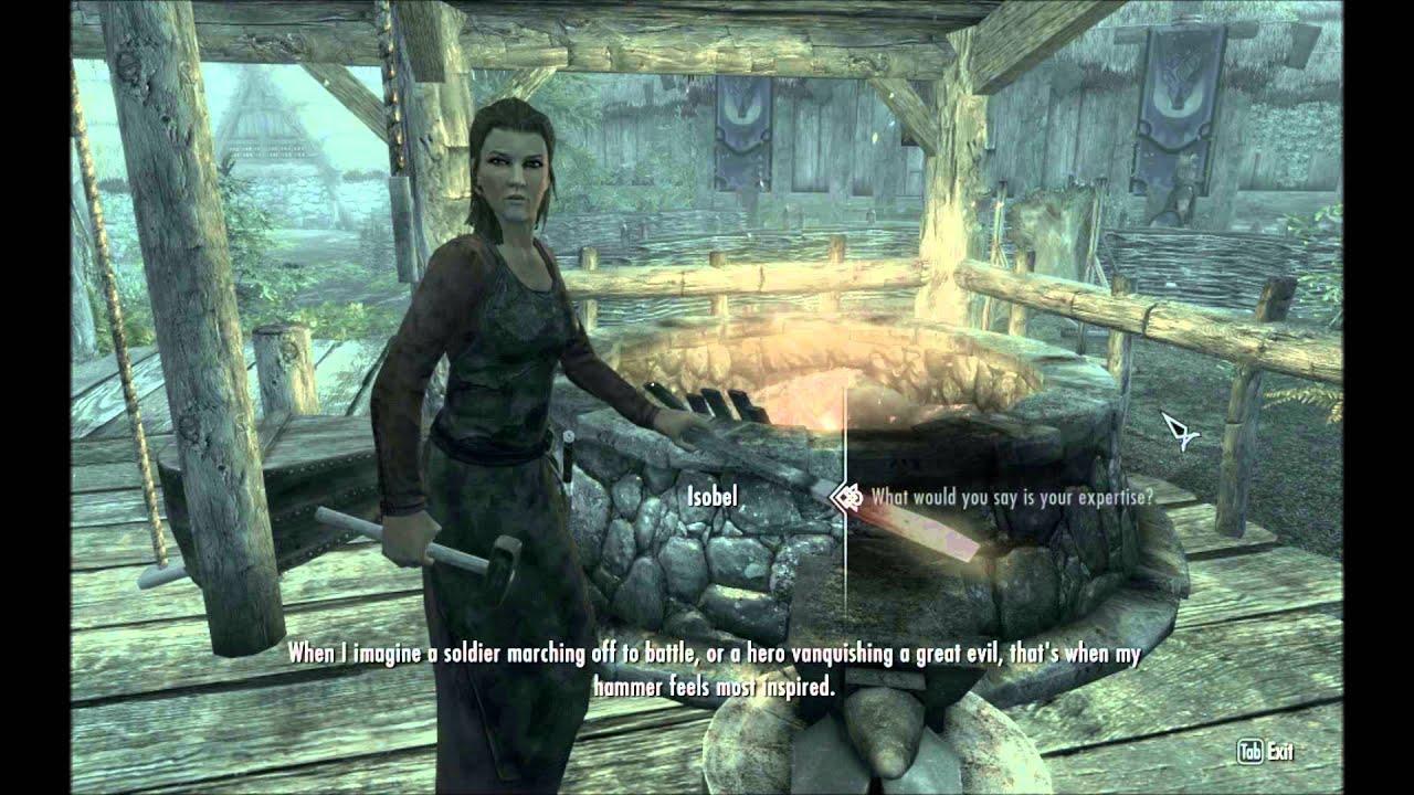 Isobel   Interesting NPCs