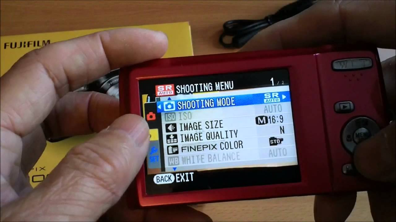 Fuji Finepix JZ100, 14 megapixel 8x zoom point and shoot camera ...