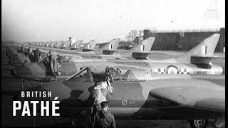 """Selected Originals - """"Hunter"""" Leads RAF Defence (1955)"""