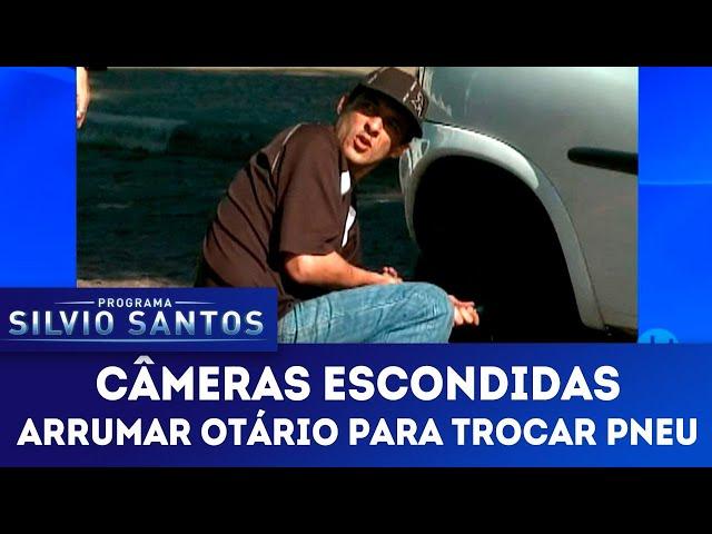 Arrumar Otário para Trocar Pneu   Câmeras Escondidas (02/12/18)