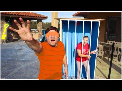 PRISON ESCAPE Challenge! Difficulty Level: IMPOSSIBLE.