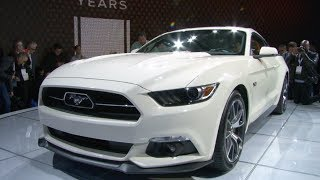 Mustang 50th Anniversary Edition Unveiled at NY International Autoshow