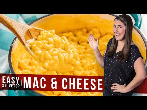 How To Make Easy Stovetop Mac And Cheese