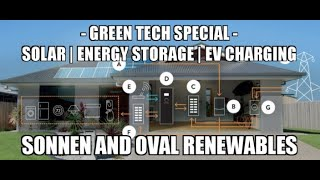 Green Tech Special | Solar | Energy Storage | EV Charging | Sonnen and Oval Renewables