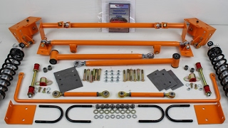 Disc Brake Mustang Suspension Kit Paint - Classic Car Restoration - RC Motorsports - Heidts