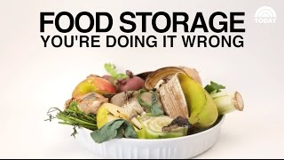 Food Storage: You're Doing It Wrong! | Three Super Simple Tips for Storing Fresh Food