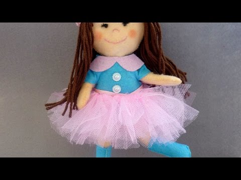 How To Make Stunning Felt Doll - DIY Crafts Tutorial - Guidecentral