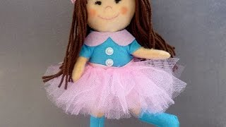 How To Make Stunning Felt Doll - Diy Crafts Tutorial - Guidecentral