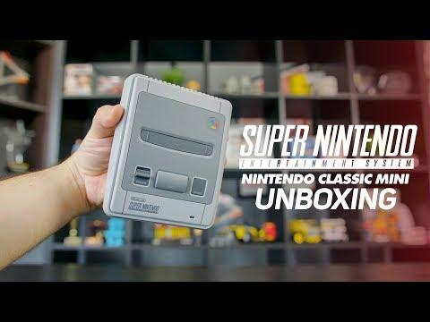VISSZA AZ IDŐBEN! | Super Nintendo Classic Mini (SNES) UNBOXING
