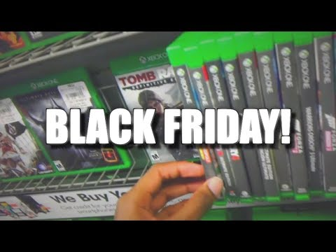 Buying New Games The Xbox One At Gamestop Black Friday