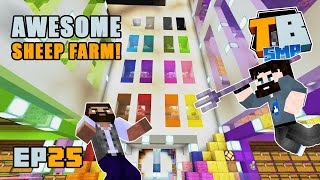Epic sheep farm!! | Truly Bedrock Season 2 [25] | Minecraft Bedrock SMP