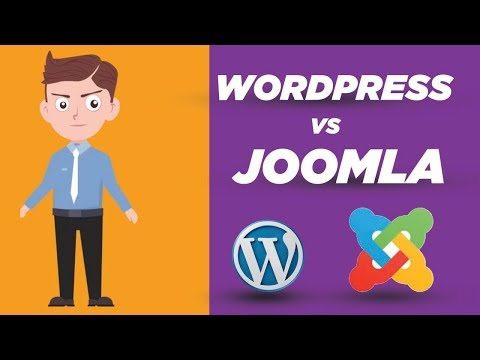 Wordpress Vs Joomla  ( Content Management System ) Compare | Best CMS Ever In Web Development