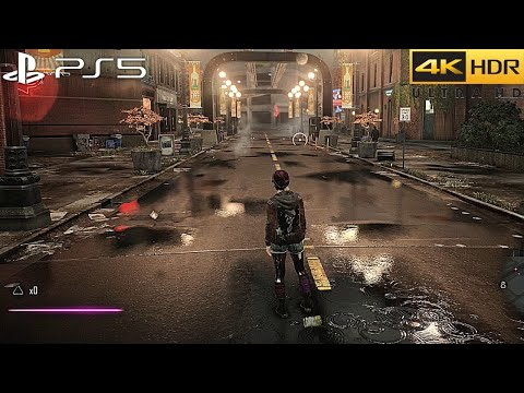 Infamous First Light (PS5) 4K 60FPS HDR Gameplay