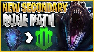 RTO   NEW SECONDARY RUNE PATH   SORCERY IS OP - League of Legends