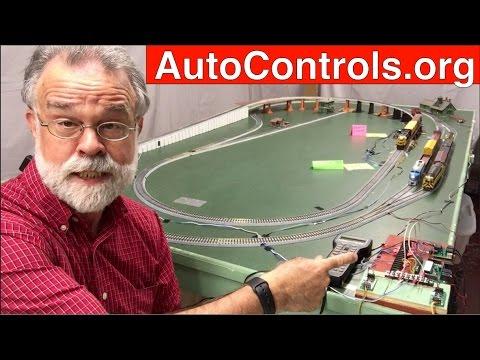 ACO814-1/3 DCC Automatic Yard Controls 3 HO Trains on 1 Track Using