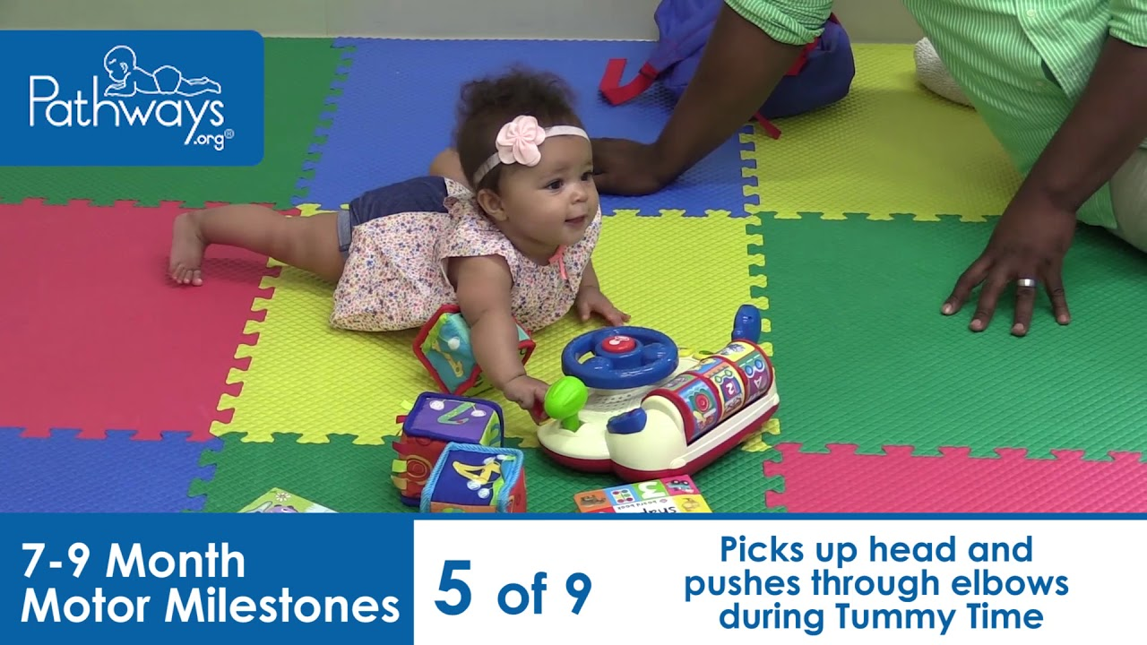 Video Based Therapy May Help Babies At >> 7 To 9 Month Baby Motor Milestones To Look For Youtube