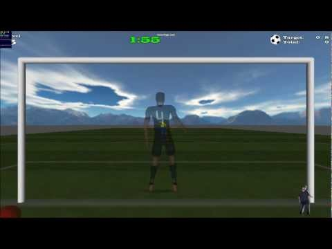 Kinect Goalkeeper Game in Flash With Stage 3D