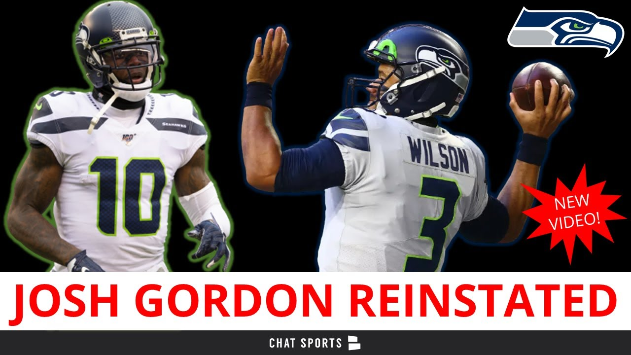 Seattle Seahawks WR Josh Gordon reinstated for last 2 weeks