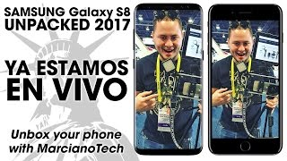 Evento Samsung Galaxy S8 ESPAÑOL #UNPACKED2017 #GalaxyS8
