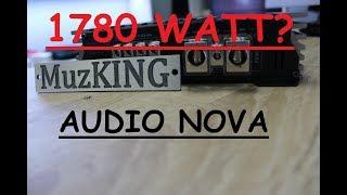 Огляд AUDIO NOVA 2000.1 D +ЗАВМЕР потужності!