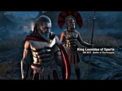 Assassin's Creed Odyssey - Opening Cutscene Leonidas & 300 Spartans (Assassin's Creed 2018) 4K HD
