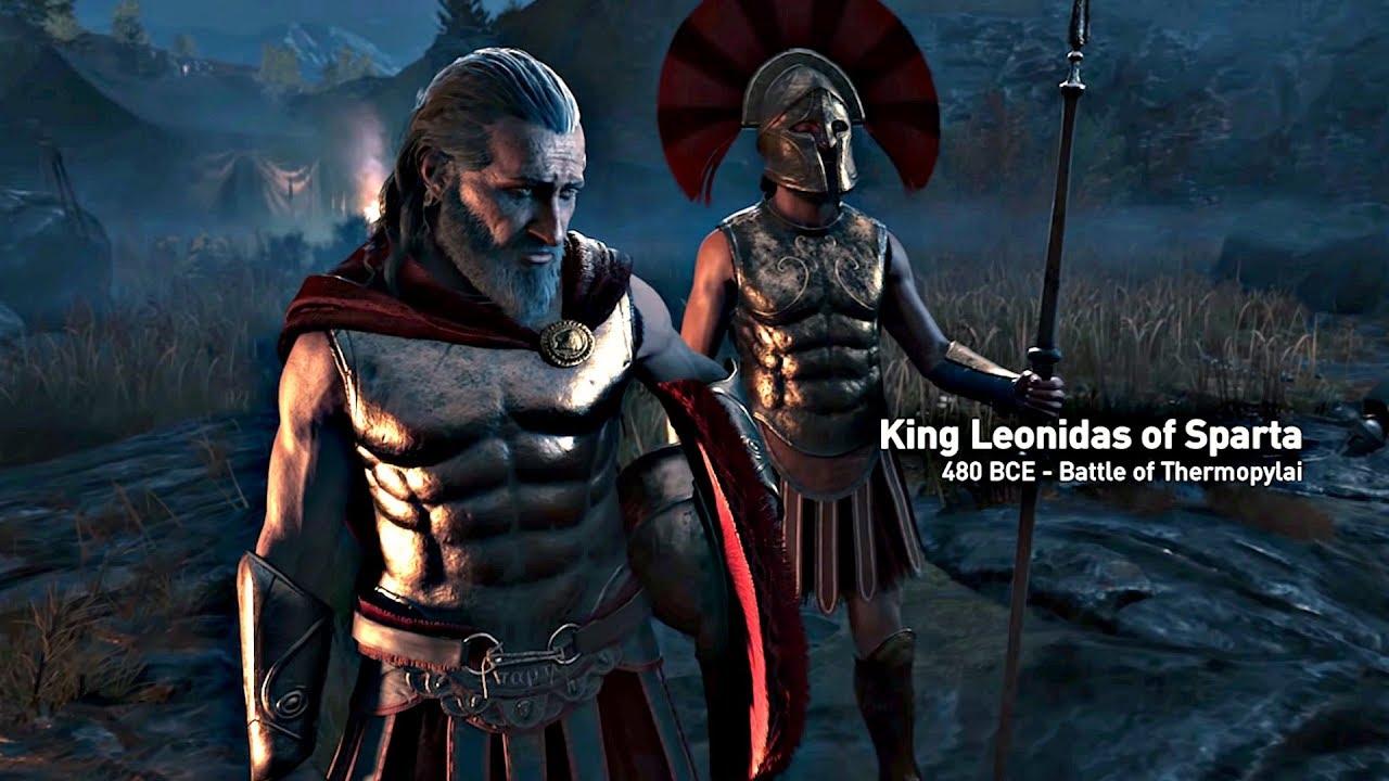 Assassin S Creed Odyssey Opening Cutscene Leonidas 300 Spartans
