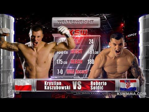 KSW Free Fight: Roberto Soldić vs Krystian Kaszubowski