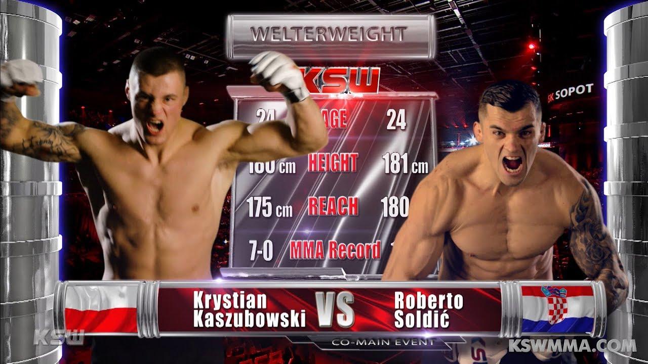 Download KSW Free Fight: Roberto Soldić vs Krystian Kaszubowski