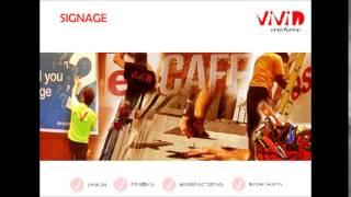 Vivid Creations - Signage