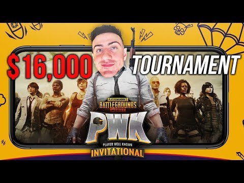 THE $20,000 PWK PUBG MOBILE LIVE TOURNAMENT! WINS ONLY!