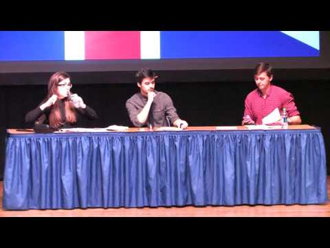 The Right to Bear Arms  2015 British National Debate Team