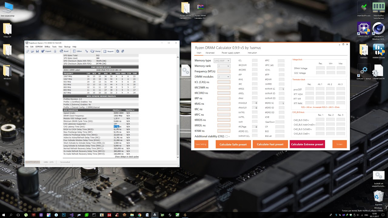 Ryzen DRAM Calculator 0 9 9 by 1usmus - guide (инструкция)