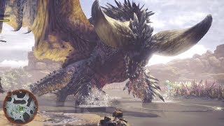 HUGE BAT DRAGON!?!? - Monster Hunter World Gameplay | Ep3 HD