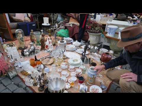 Flea Market in Brussels Beugium