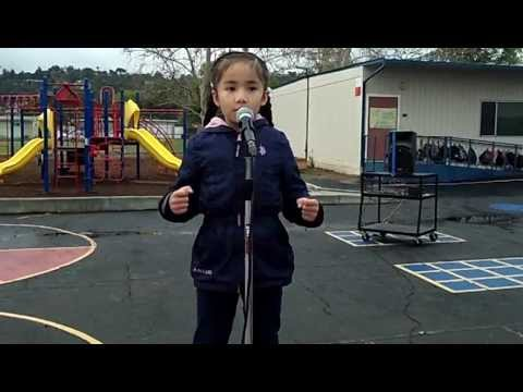 2012 MLK Speech Winner: Vanessa Martinez, 1st Grade