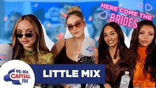 Little Mix Plan Each Other's Weddings 💍 | FULL INTERVIEW