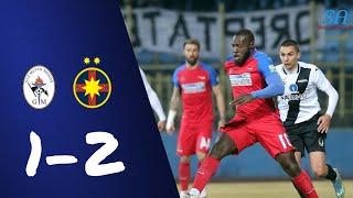 Rezumat | Gaz Metan 1-2 Steaua Bucuresti | 3.2.2018