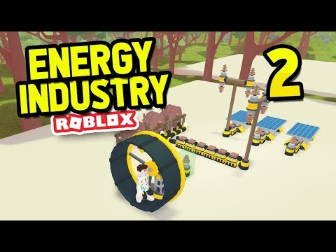 INCREASING PRODUCTION - Roblox Energy Industry #2