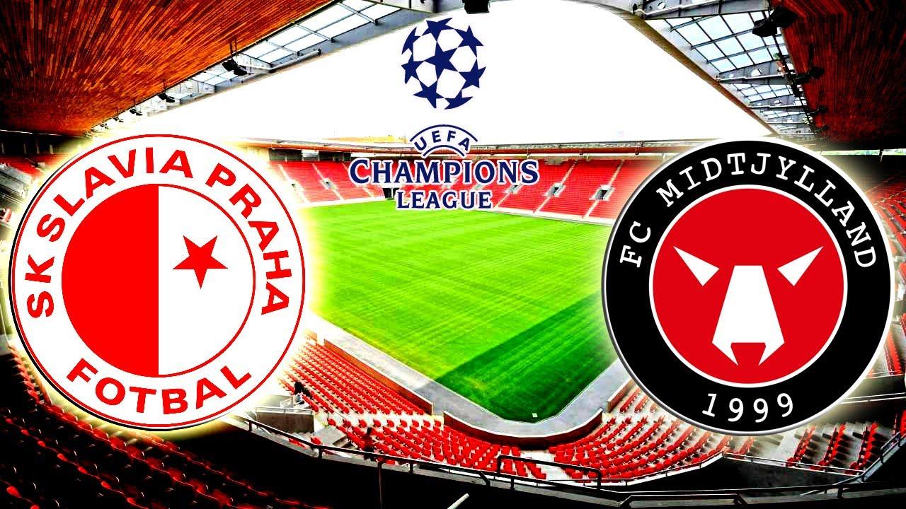 Slavia Praha Vs Midtjylland L Champions League 2020 2021 L