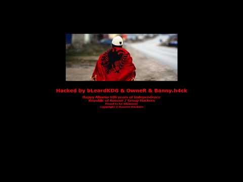 Kosova Hacker's Attack site in Greece