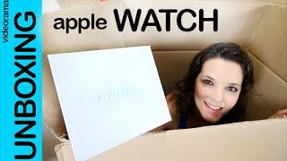 Apple Watch unboxing en español (milanese loop)