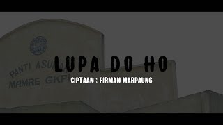 Download lagu PUNXGOARAN - LUPA DO HO (official footage video)
